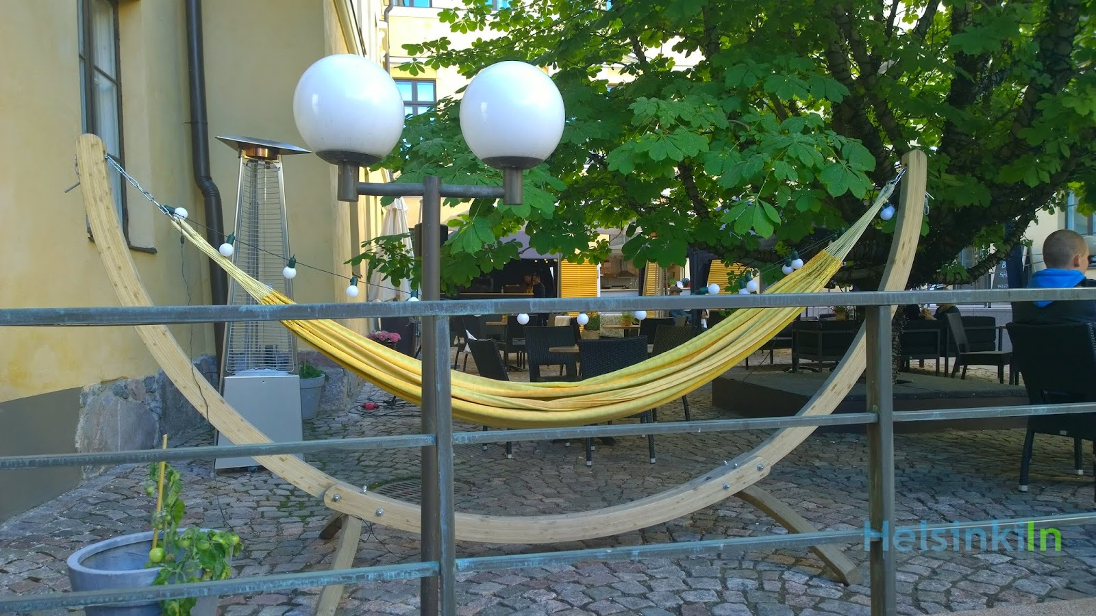 Hammock at Bock Terrace