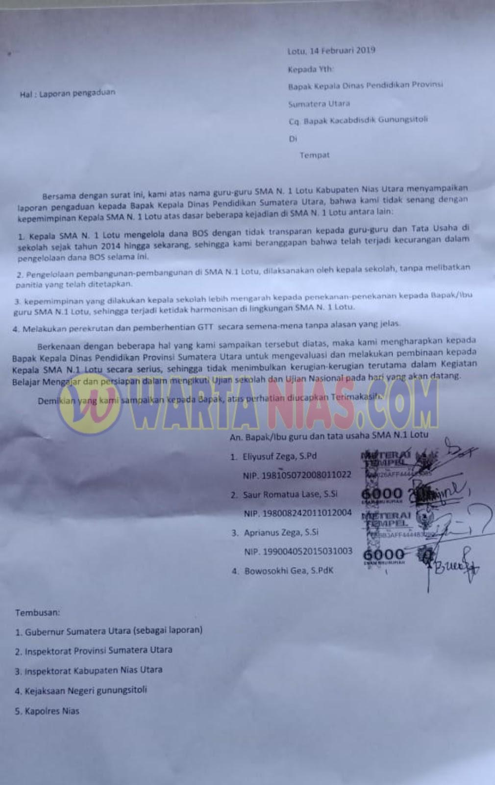 Kop Surat Dinas Pendidikan Provinsi Sumatera Utara - Bagi ...