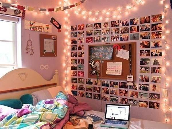 Cara Kreatif Menghias Dinding Kamar Tidur Dengan Foto