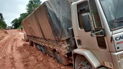 Mais da metade das rodovias complicam a vida do caminhoneiro