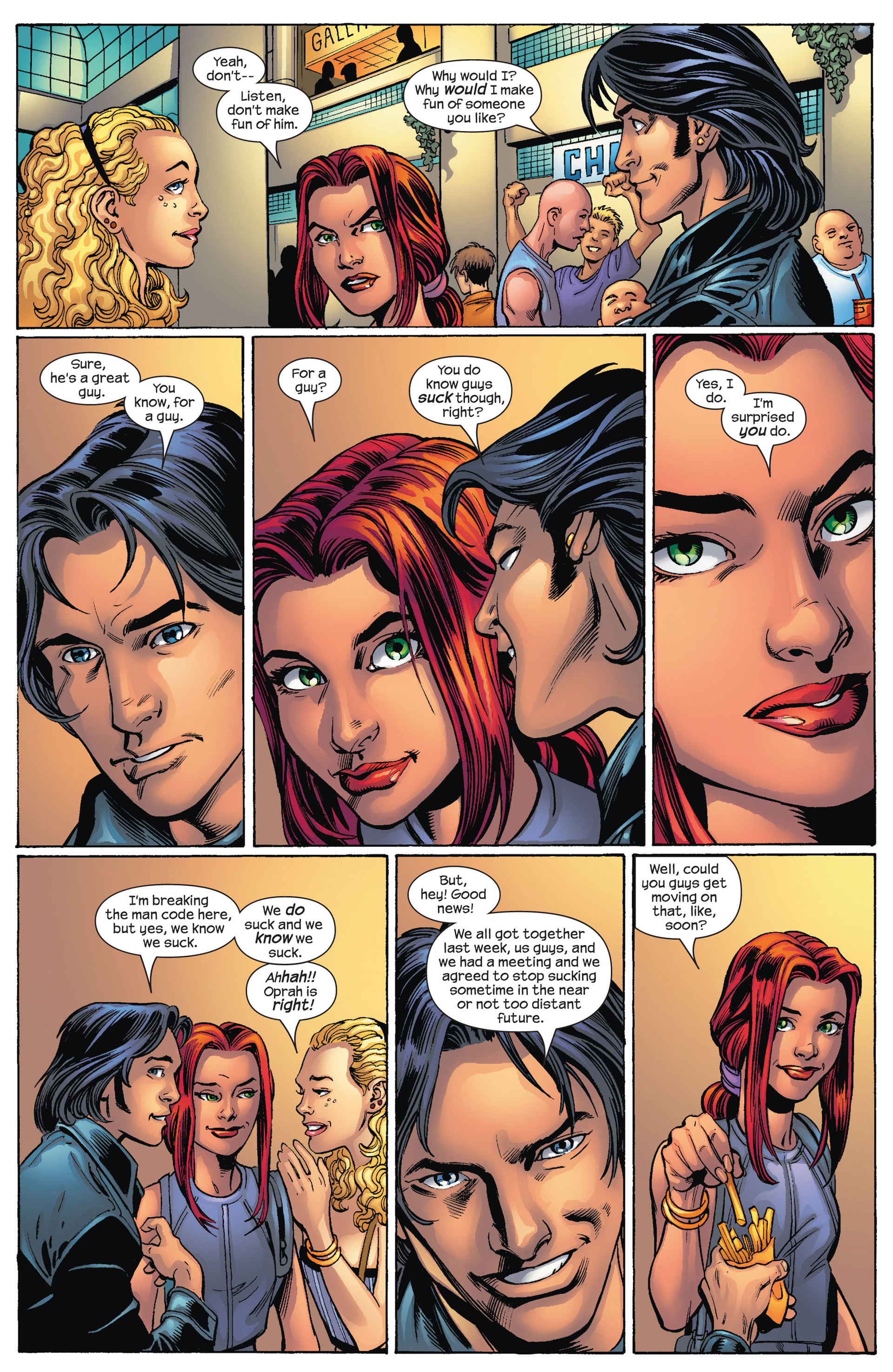 Read online Ultimate Spider-Man (2000) comic -  Issue #78 - 10