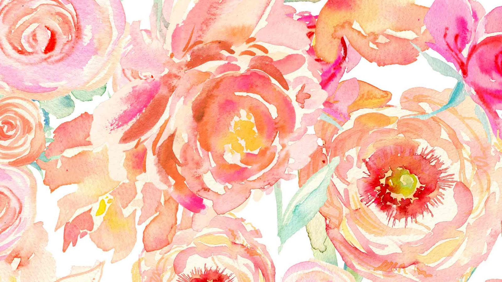 Peonies Desktop Wallpaper - The Wallpaper
