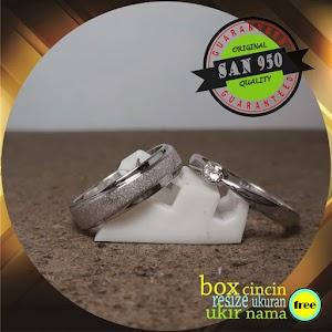 cincin emasputih dan paladium P6413X