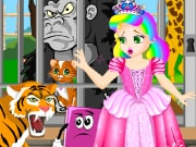 Play the best free online girl games, enjoy Princess Juliet Zoo Escape and all Princess Juliet games only on GamesGirlGames.com. Princess Juliet took Koobs and Kitty to the Zoo. They were about to enjoy a beautiful day when Kitty disappeared. We need to help Juliet find her beloved cat. Follow the clues and search everywhere for Kitty. Once you find it, you will have to release it. Play the game and find out how the story ends. Enjoy!