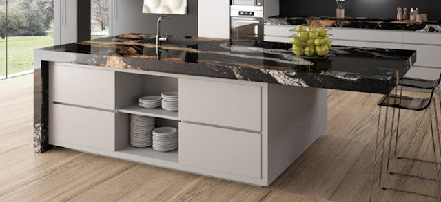 Orinoco Sensa Granite Kitchen Countertops for Every Style You Wish 01