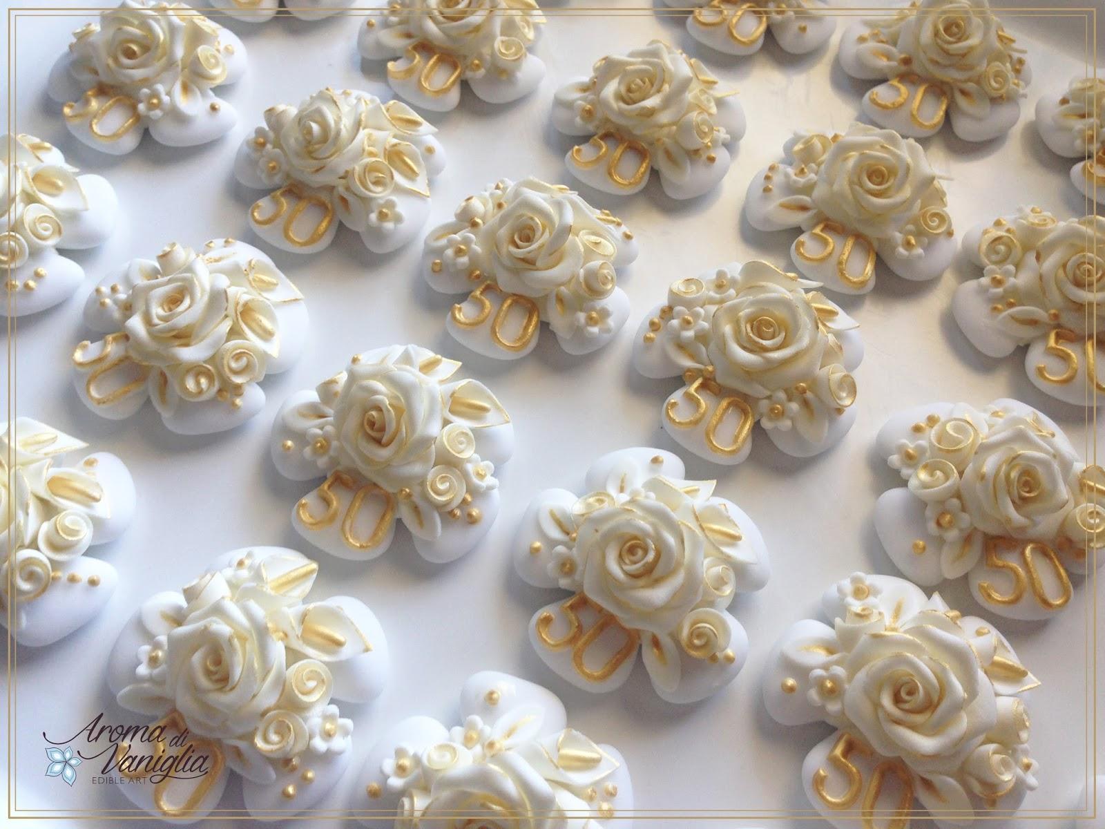 Molto aroma di vaniglia: nozze d'oro HQ68