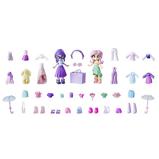My Little Pony Fluttershy and Twilight Sparkle Best Friends Fashion Squad Equestria Girls Set
