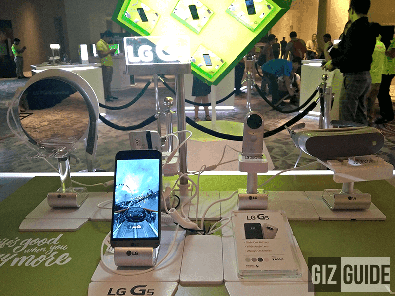 The friends of LG G5