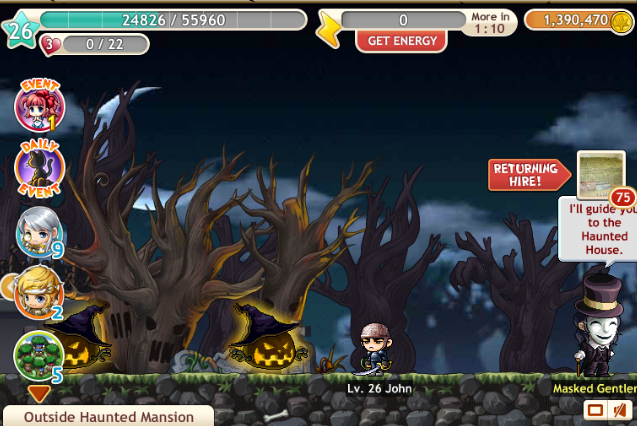 Maplestory haunted house quest youtube.