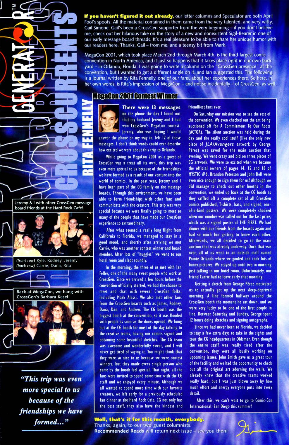 Read online Sigil (2000) comic -  Issue #11 - 27