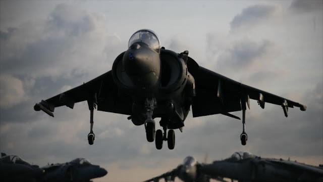 Se estrella un caza de la Fuerza Aérea de EEUU en Japón