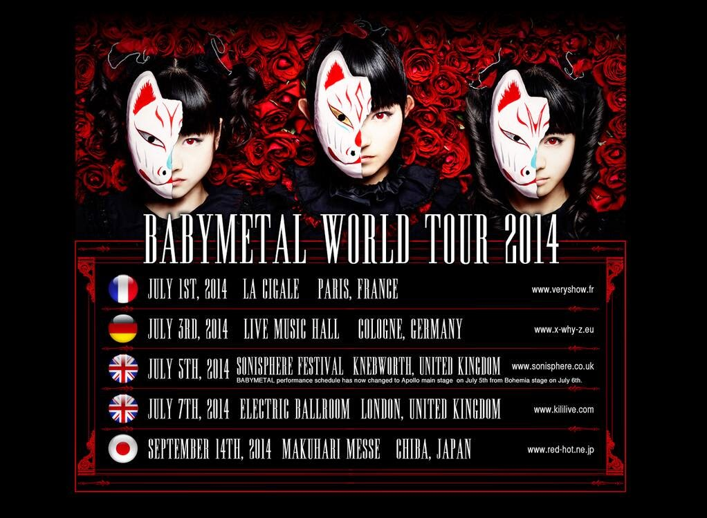 BABYMETAL - Paris - La Cigale