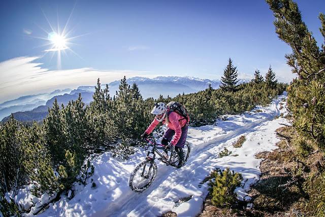 Downhill Fatbike Monte Roen Kaltern Bozen