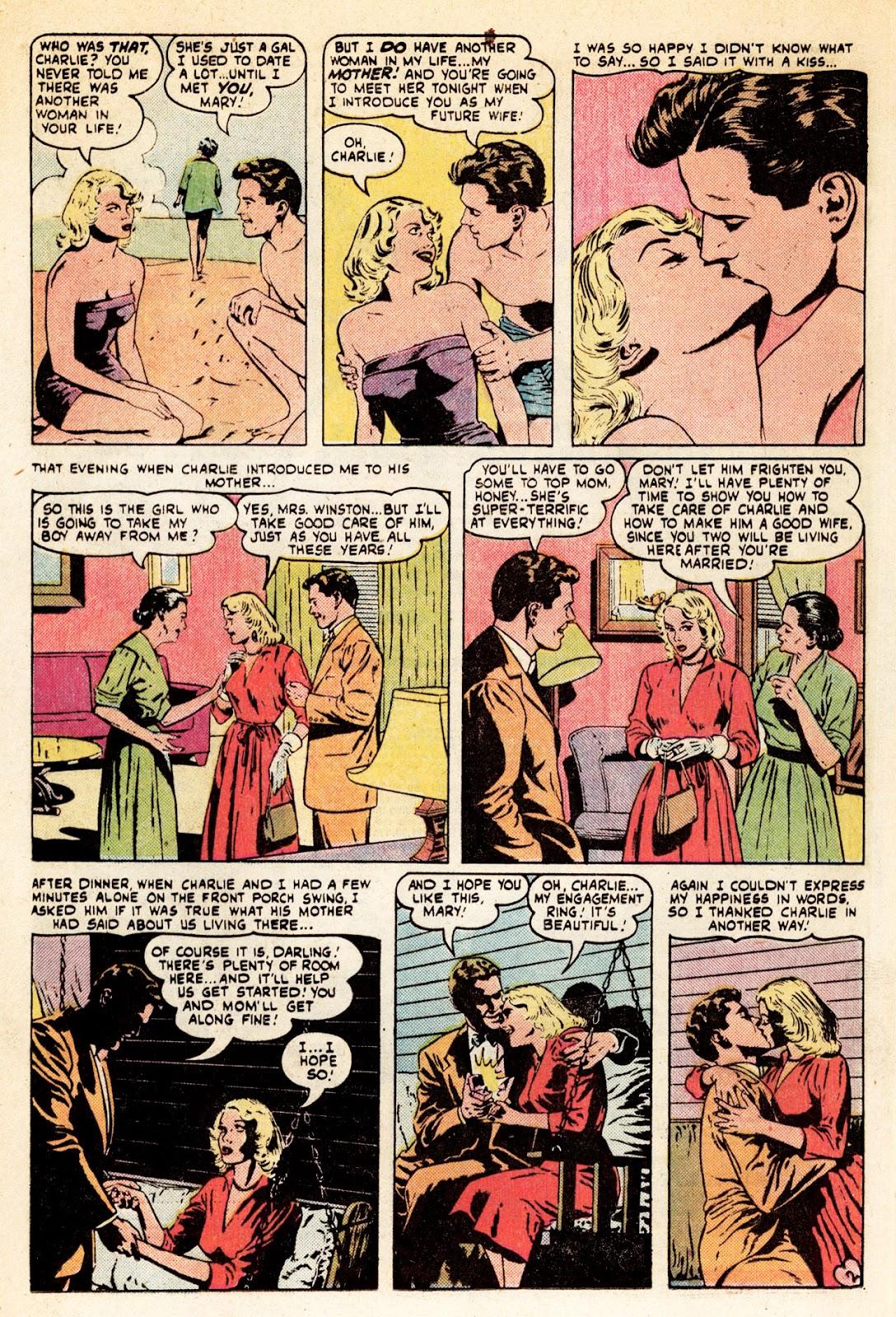 Love Romances (1949) issue 34 - Page 3