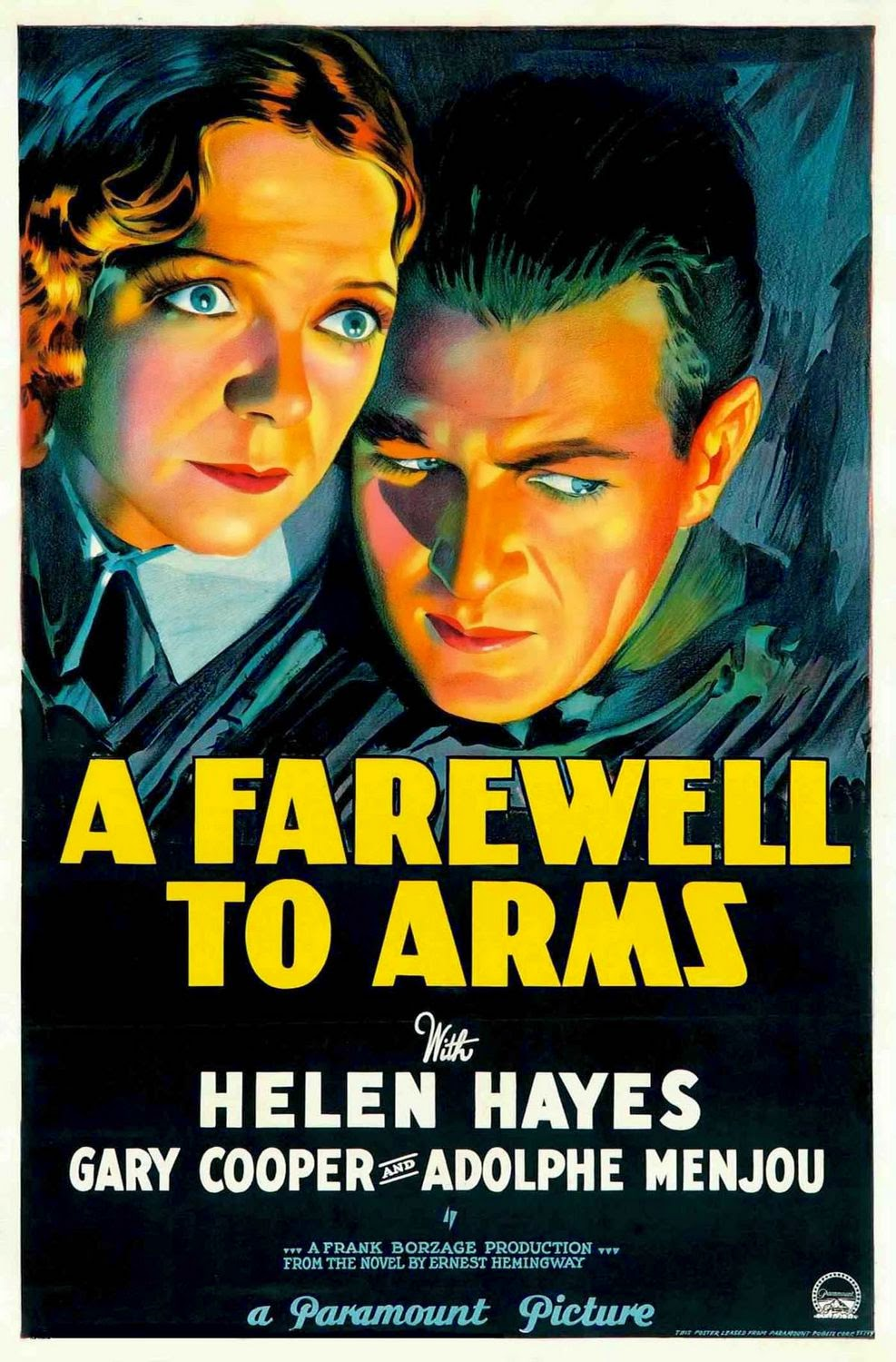 art artists film posters 1930s 1932 a farewell to arms