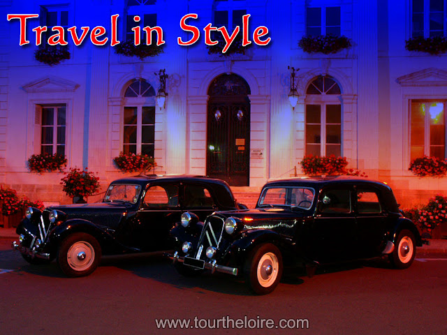 Tour the Loire Valley in a classic car. tourtheloire.com