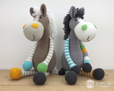 Stip Haak Paard Emma