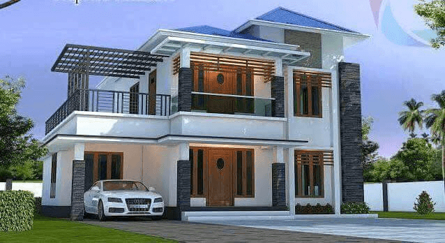 Home Front Elevation Colour : House front elevation design images photo pics the
