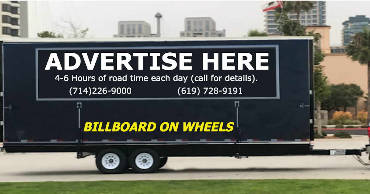 Mobile Billboard - Xclaimed Productions