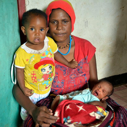 Special delivery: reaching pregnant women with health care in Papua