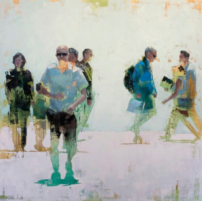 американский художник. John Wentz