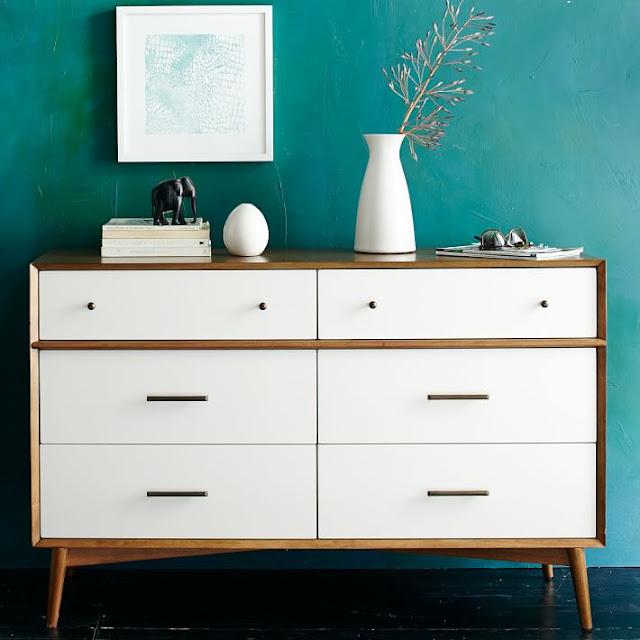 Look for Less West Elm Mid-Century Acorn Dresser