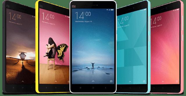 Xiaomi Smart Phones Prices in Pakistan