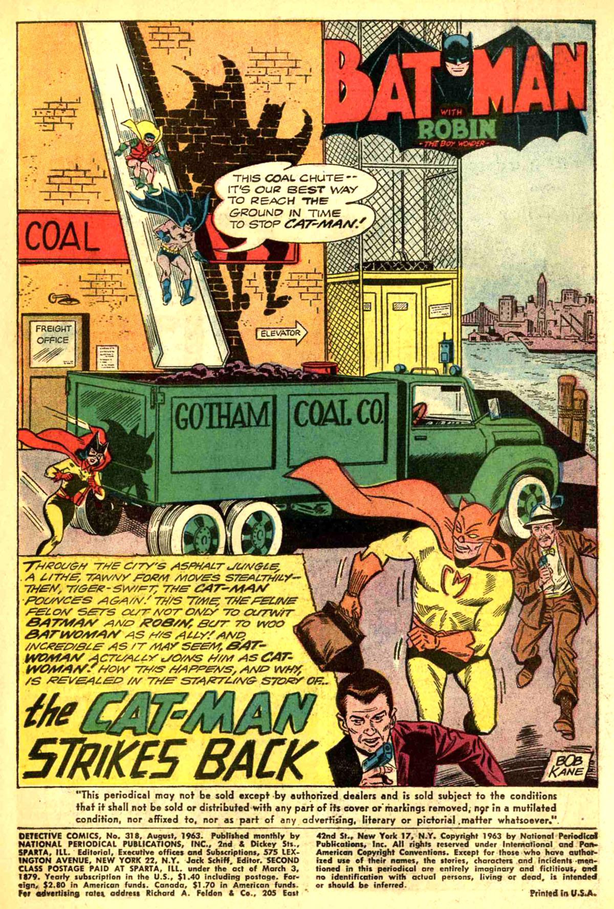 Detective Comics (1937) 318 Page 2