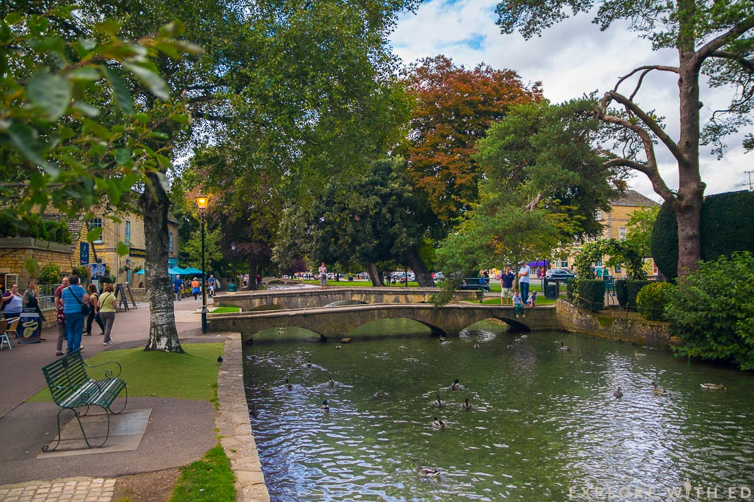 Bourton-on-the-Water, The Venice of the Cotswolds, Bourton High Street