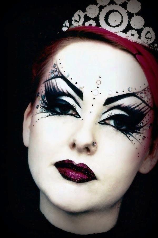 Emejing Gothic Halloween Make Up Pictures - harrop.us - harrop.us