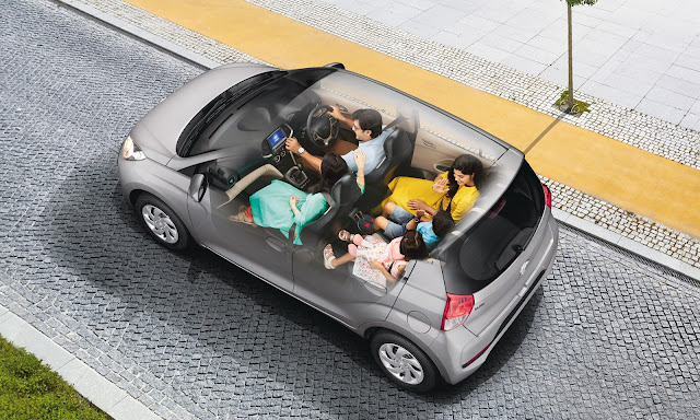 Hyundai Santro 2018 - Interior