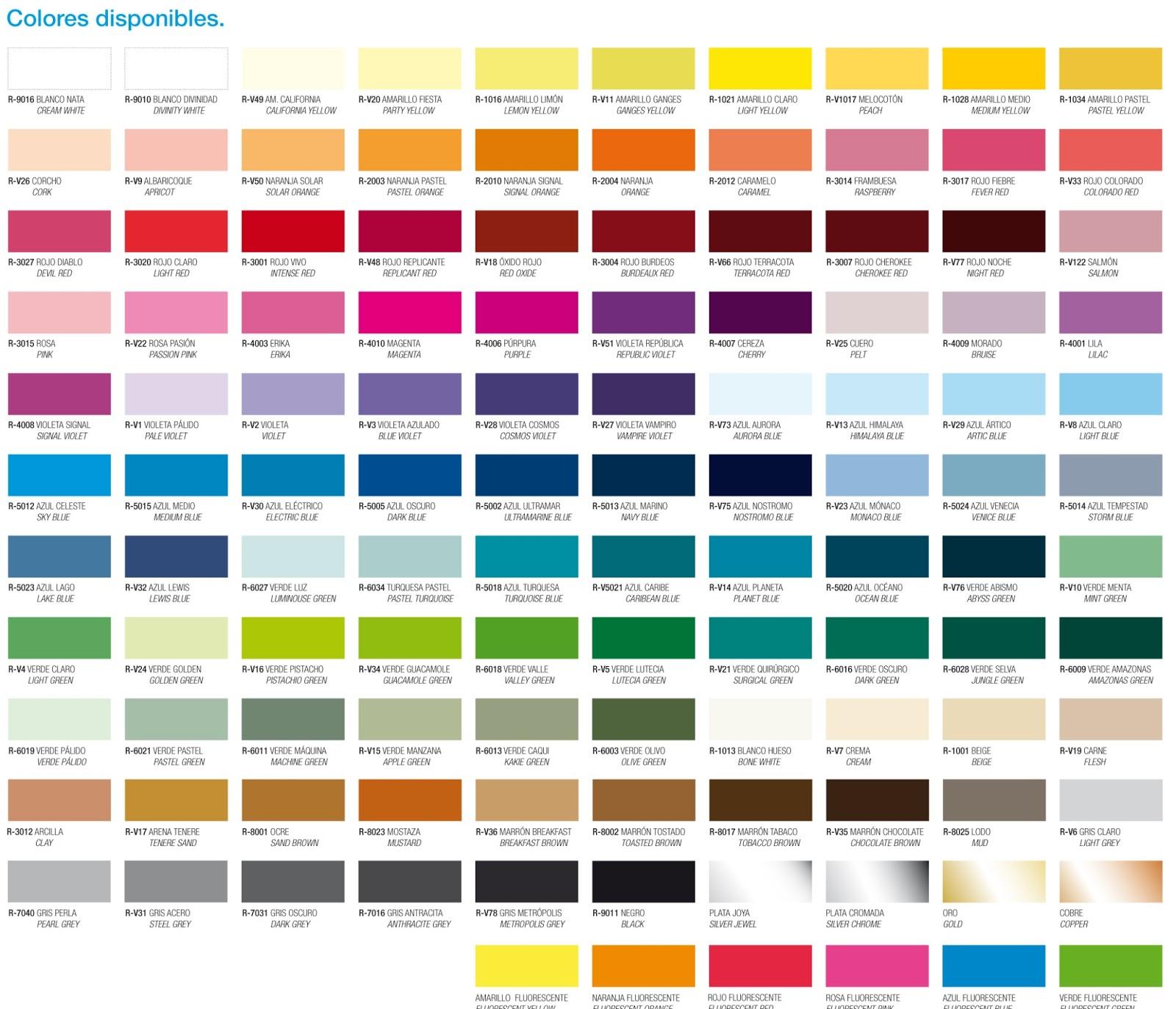 Catalogo De Colores De Pinturas - Novocom.top