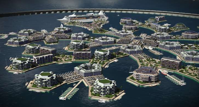 Floating Island Project 2020 - Kota di atas laut