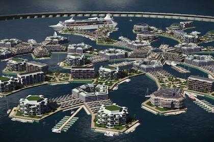 Floating Island Project 2020 - Kota di atas laut