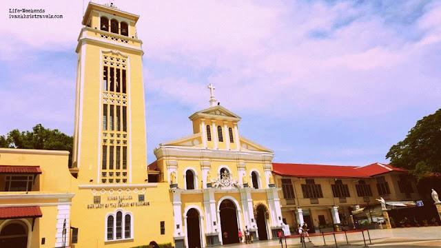 Façade of Our Lady of Manaoag Church