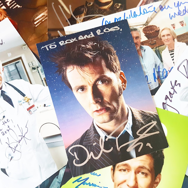 Celebrity Autographs      David Tennant