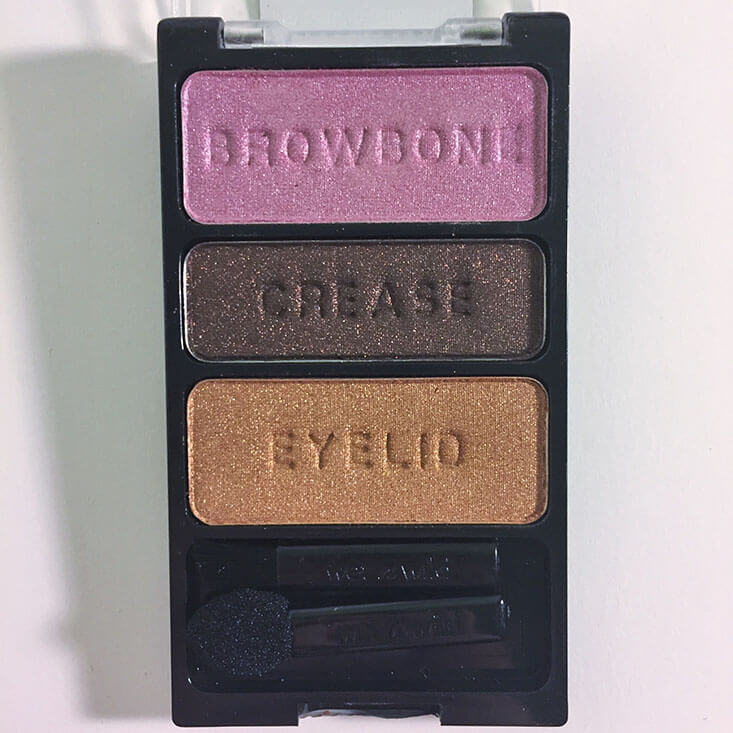 wet n wild coloricon Eyeshadow Trio I'm Getting Sunburned