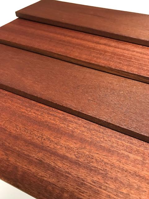 Batu Hardwood Siding - 1/2x6 Bevel