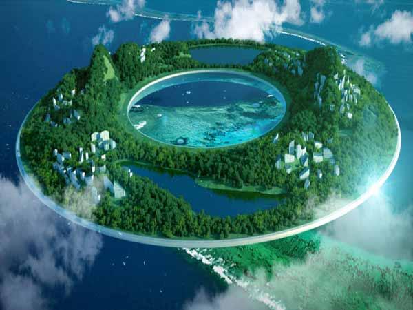 Flying House Magnetic Levitation Propulsion