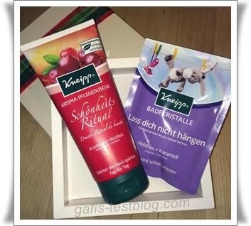 Kneipp® Aroma Pflegedusche - Schönheitsritual und Kneipp® Badekristalle - Lass dich nicht hängen
