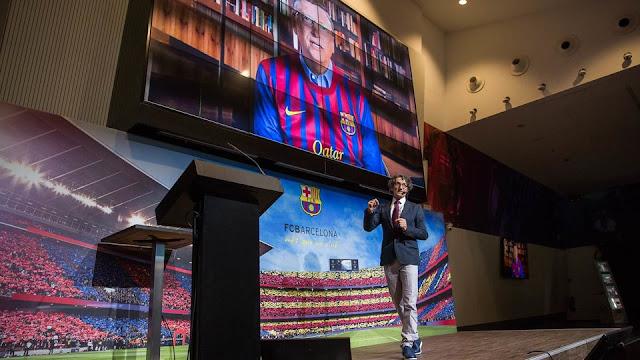 El Camp Nou acoge la previa del Smart City Expo World Congress