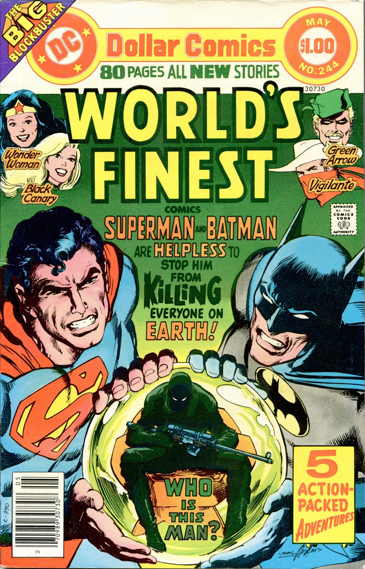 Read online World's Finest Comics comic -  Issue #244 - 1