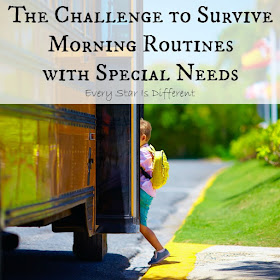 The Challenge to Survive Morning Routines with Special Needs