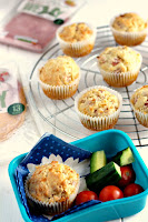 Ham, Cheese and Herb Savoury Muffins