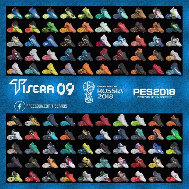 New Bootpack World Cup Russia 2018 For PES 2018