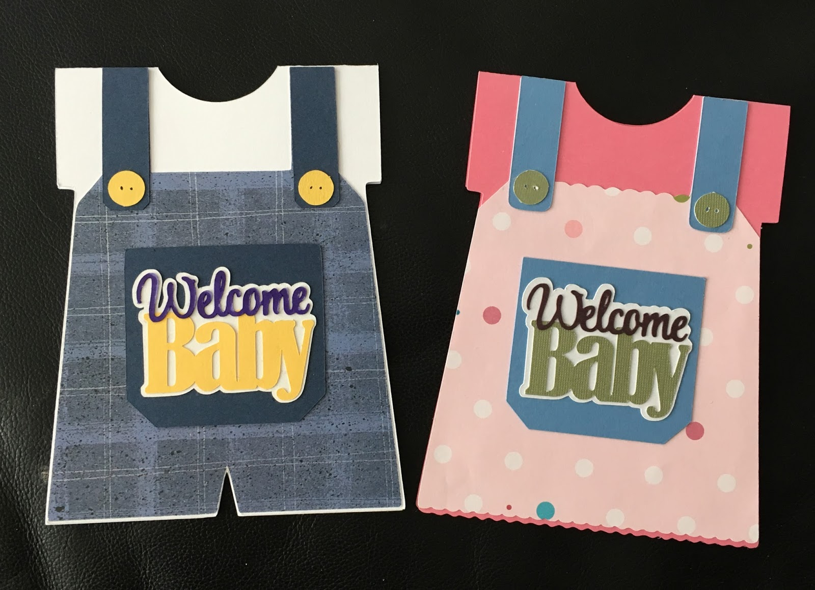 Scrap Ali Ever After Welcome Baby Boy Girl Silhouette Machine