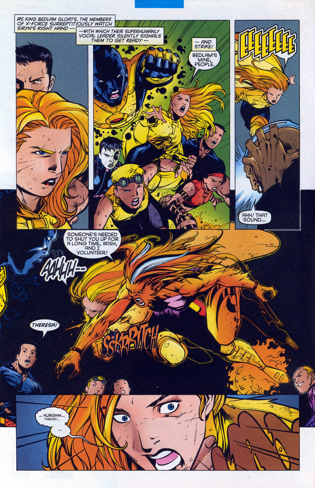 Read online X-Force (1991) comic -  Issue #90 - 10