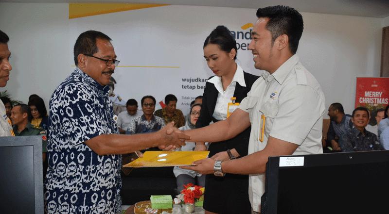 Pt Bank Mandiri Taspen Pos Mantap Buka Cabang Di Ambon Maluku Post