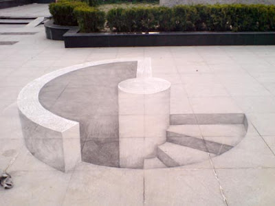 Creative and Cool 3D Chalk Drawings (10) 4