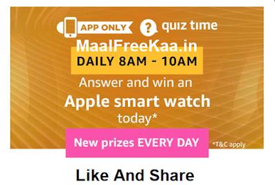 Free Apple Smart Watch